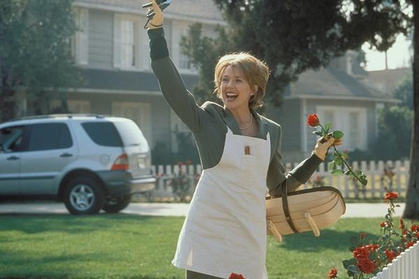 A atriz Annette Bening em cena de Beleza Americana (Foto: Reprodução)