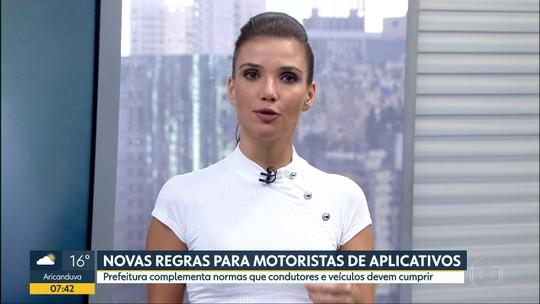 Prefeitura de SP coloca novas regras para motoristas de aplicativos