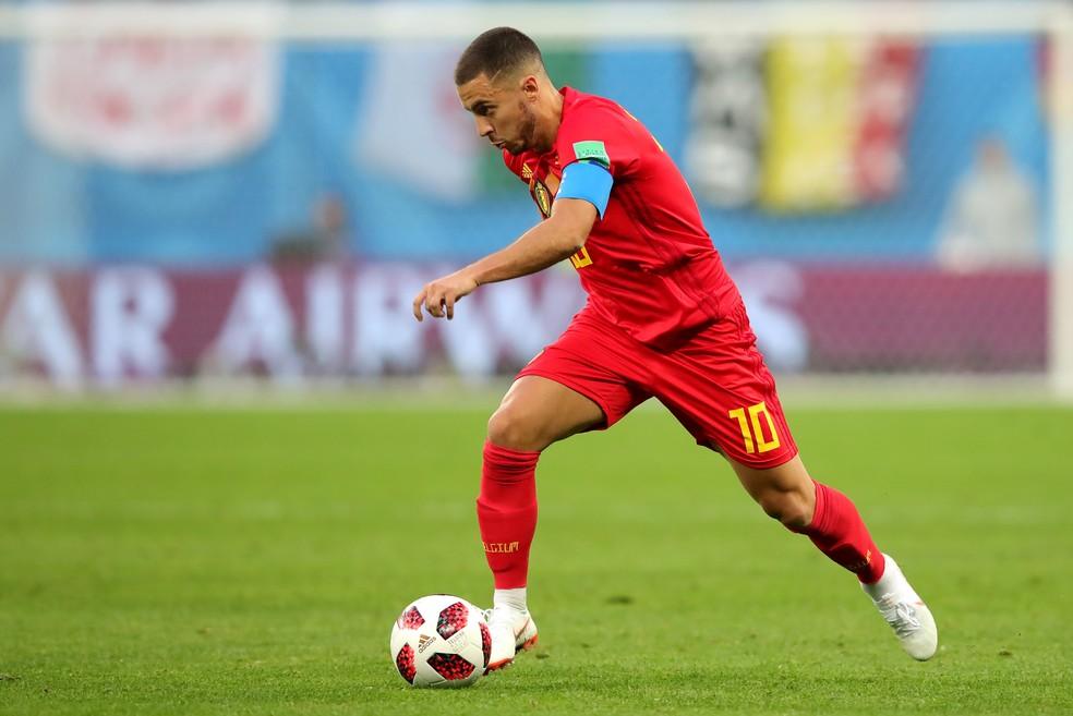 Hazard deve seguir como titular (e capitão) na despedida da Bélgica (Foto: Alexander Hassenstein/Getty Images)