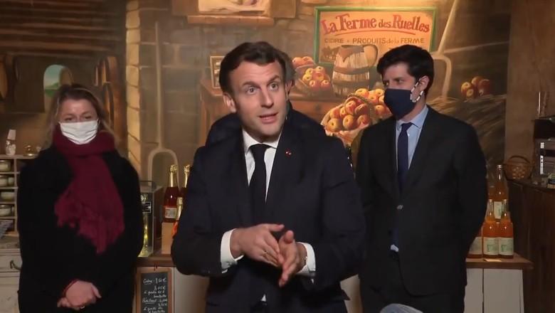 Emmanuel Macron, presidente da França (Foto: Twitter/Reprodução)