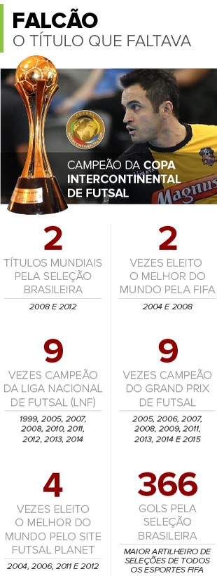 Info-TITULOS-FALCAO-Futsal 2 (Foto: infoesporte)