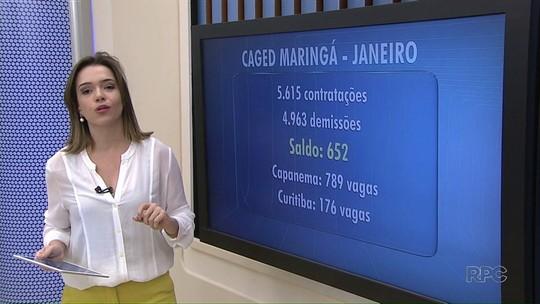 Mercado de trabalho de Maringá reage e volta a contratar mais do que demitir