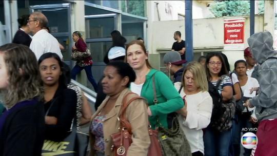 Greve de ônibus no ABC Paulista deixa muita gente sem condução