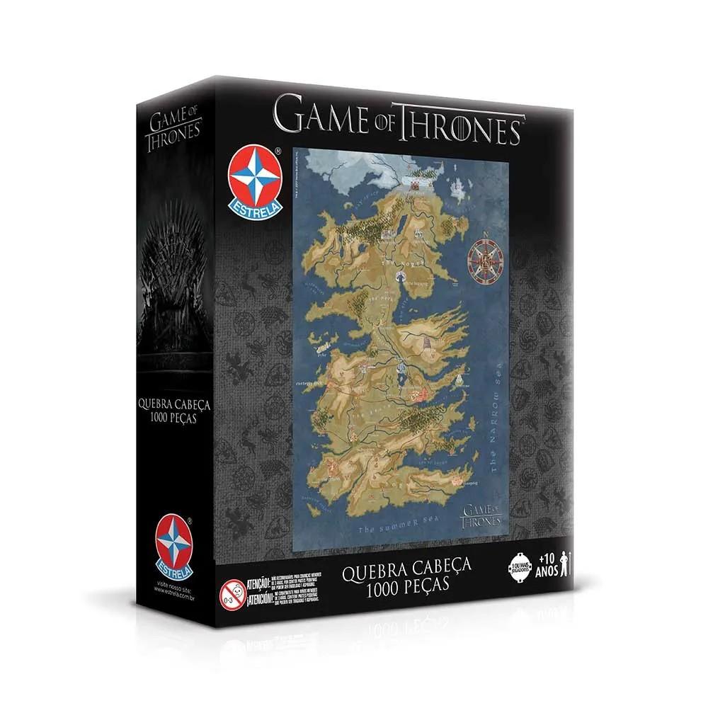Quebra-cabeças de Game of Thrones (Foto: Divulgação)
