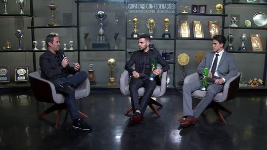 """Volante artilheiro, Bruno Henrique exalta melhor fase no Palmeiras: """"Esse ano tive bastante liberdade"""""""