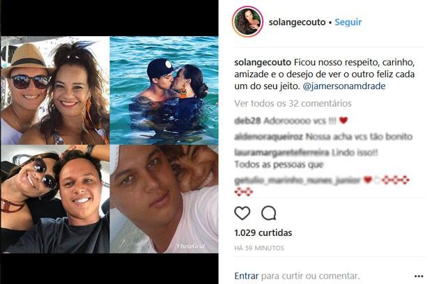 Solange Couto comfirma fim de casamento (Foto: Reprodução)