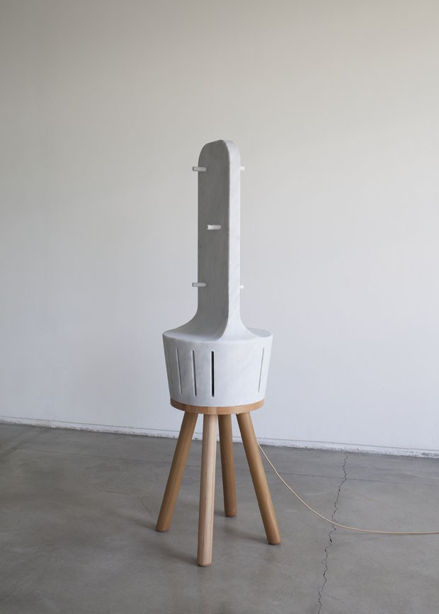 Termoventilador <em>Heatty</em>, design Claudio Larcher