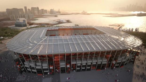 Copa do Mundo 2022: Estádio Ras Abu Aboud (Foto: Divulgação )