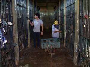 PREP_ Profissão Repórter vai mostrar as condições das cadeias no Brasil (Foto: TV Globo)