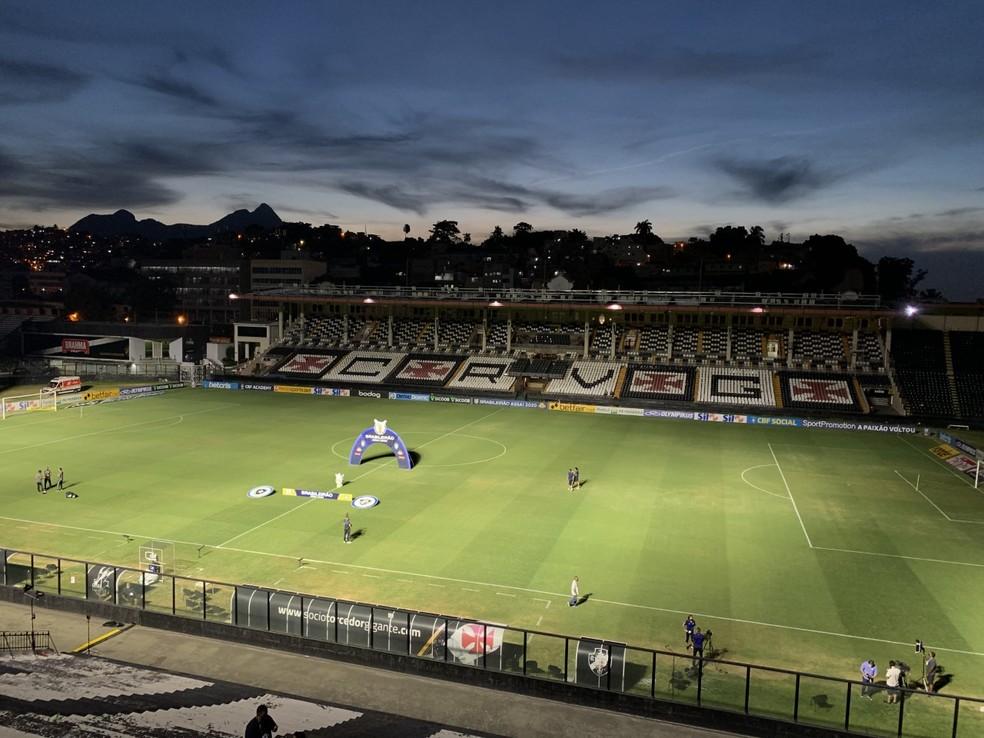 São Januário não sediará Ponte Preta x Santos pela quinta rodada do Campeonato Paulista — Foto: André Durão/ge
