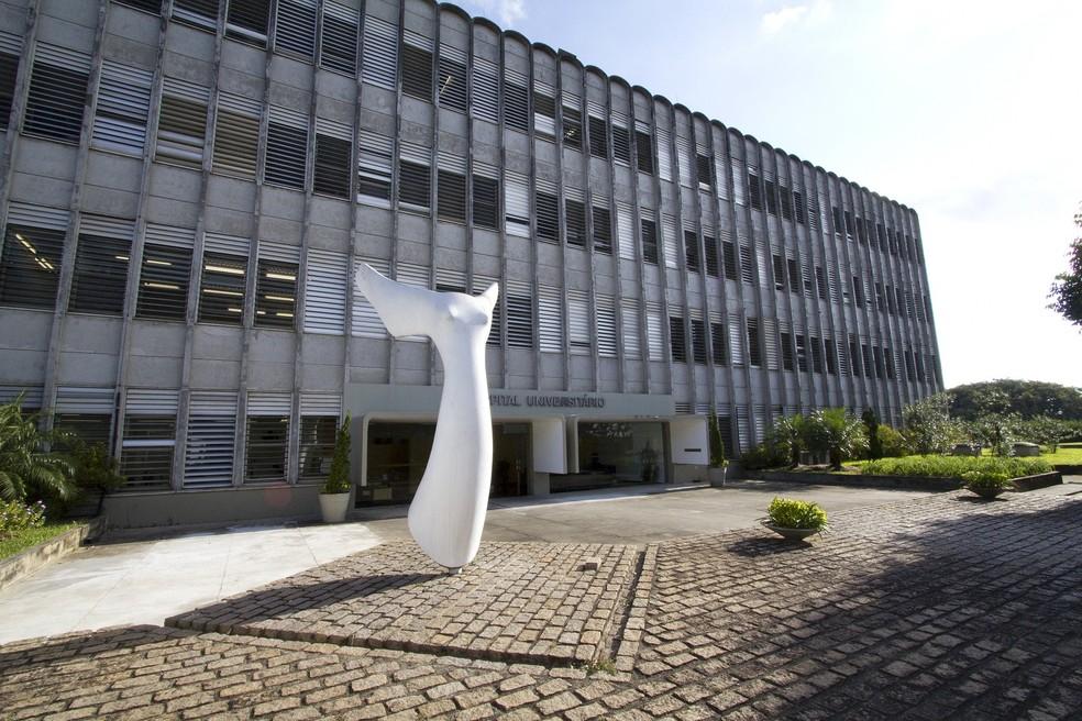 Hospital Universitário da USP — Foto: USP/Divulgação