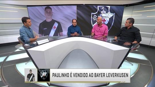 """Comentaristas lamentam venda de Paulinho, do Vasco: """"É muito cedo"""""""