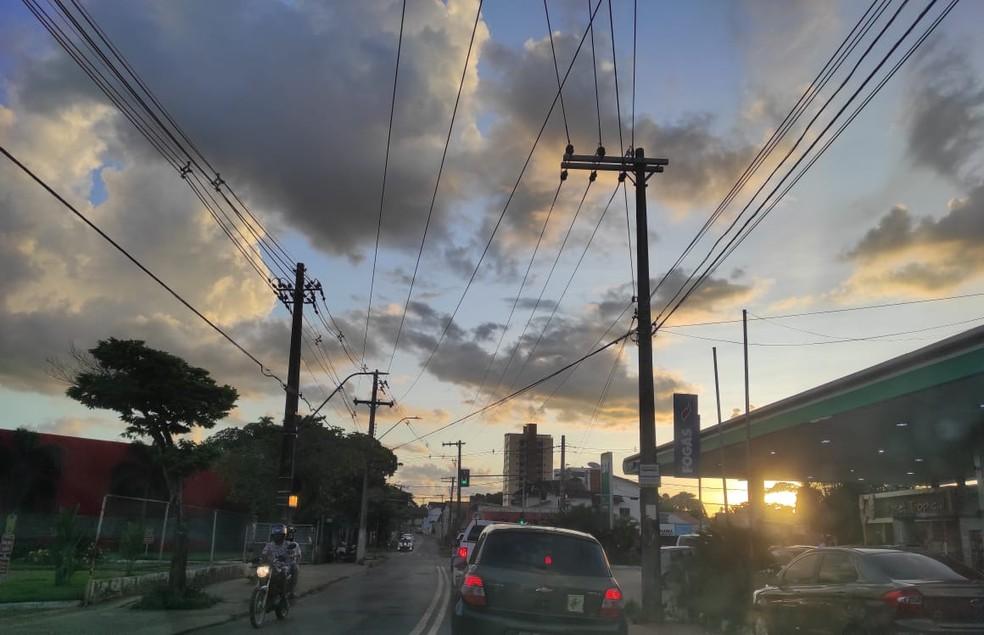 Previsão do tempo para esta sexta-feira (21) no Acre é de tempo instável em todas as regiões — Foto: Geisy Negreiros/Arquivo pessoal