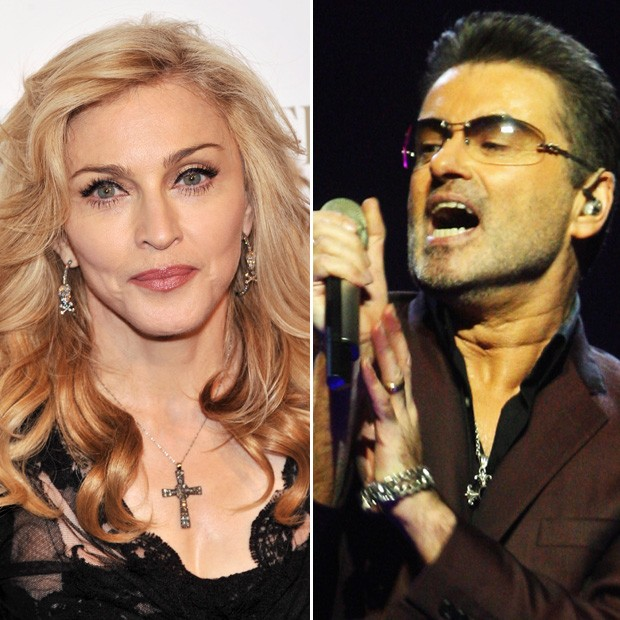 Madonna e George Michael (Foto: Getty Images)