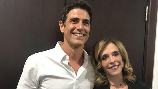 Deborah Evelyn lança filme e comenta experiência de contracenar com Reynaldo Gianecchini