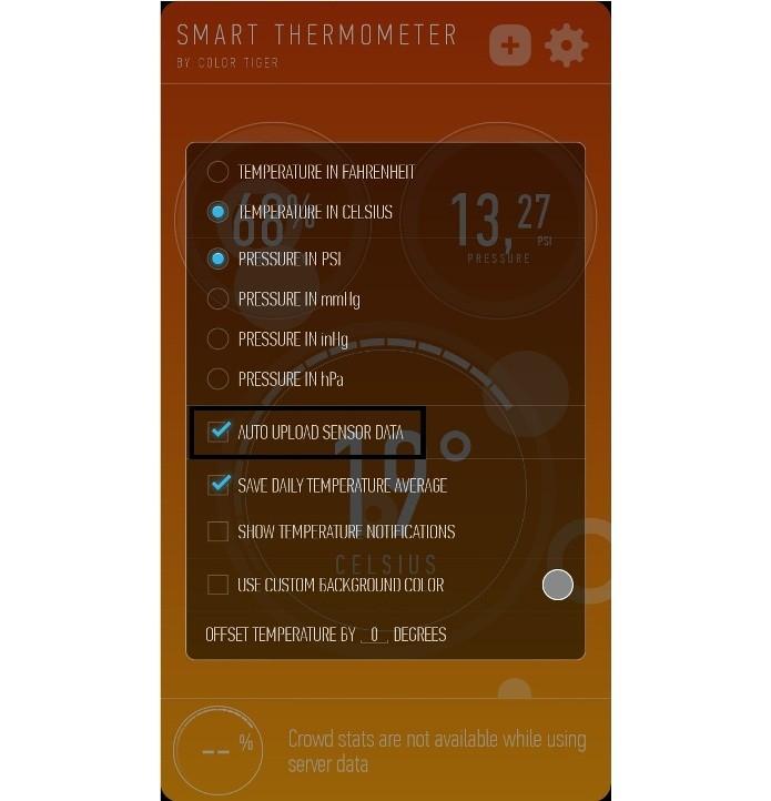 Configurando o app para carregar dados automaticamenteados (Foto: Reprodução/Lívia Dâmaso)