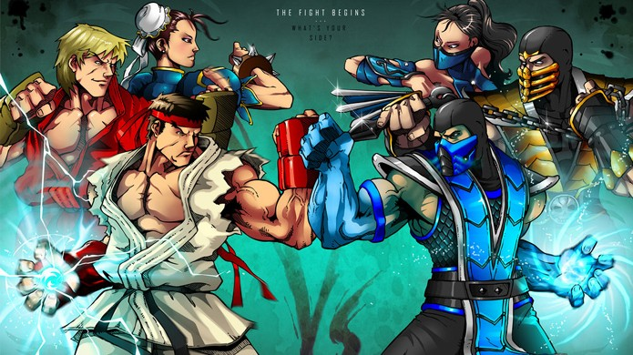 Mortal Kombat vs Street Fighter online