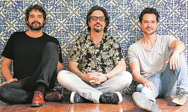 Guilherme Winter, Lucio Mauro Filho e Gabriel Gracindo (Foto: Mauricio Val)