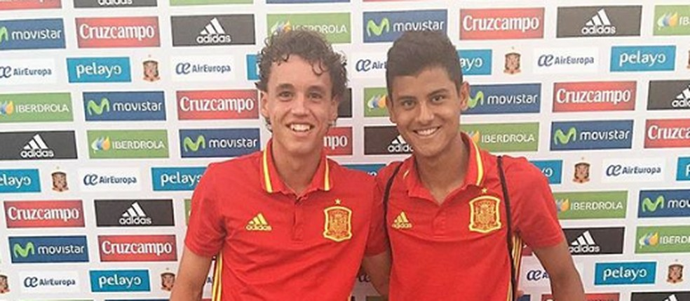 Lucas de Vega já vestiu a camisa da seleção espanhola — Foto   Reprodução Instagram 1b48203c027ea
