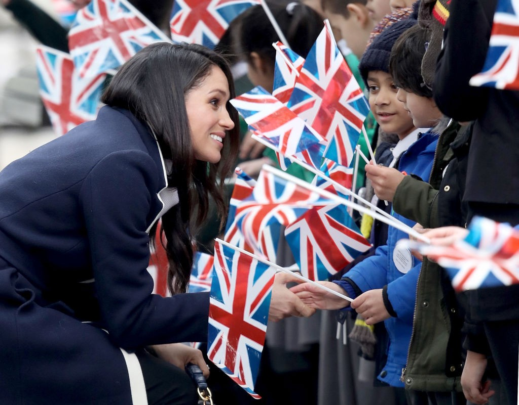 Meghan Markle e Príncipe Harry em Birmingham  (Foto: Getty Images)