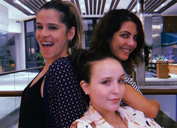 Ingrid Guimarães, Larissa Manoela e Thalita Rebouças (Foto: Reprodução/Instagram)