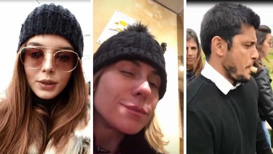 Giovanna Lancellotti é impedida de visitar Torre Eiffel e se diverte; veja as viagens dos famosos