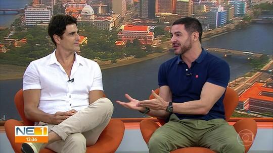 Reynaldo Gianecchini e Ricardo Tozzi trazem peça 'Os Guardas do Taj' ao Recife
