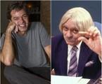 Bruno Mazzeo e Chico Anysio   Arquivo/Divulgação