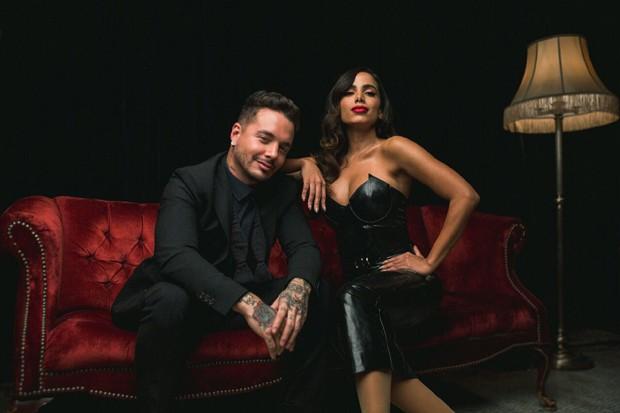 J Balvin e Anitta (Foto: Divulgação)