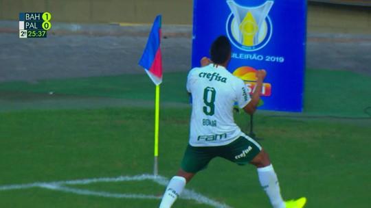 A vez de Borja? Após tom de despedida, colombiano pode ter chance com Mano no Palmeiras