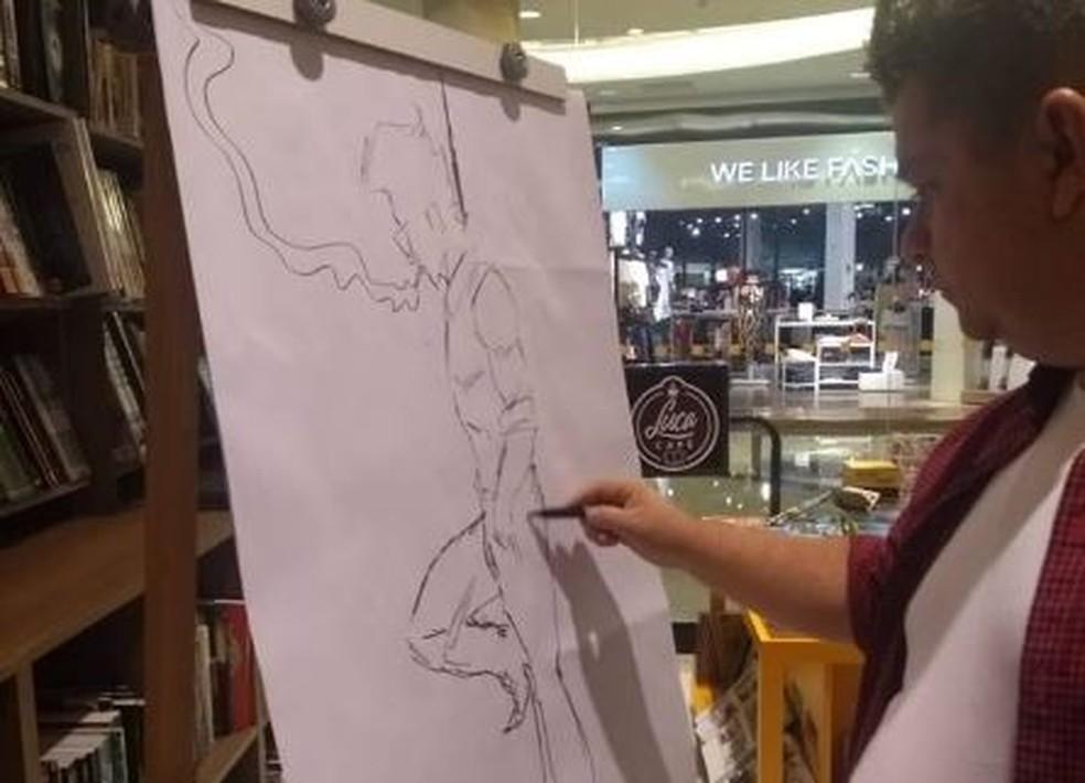 Emmanuel Merlotti é um dos artistas que participa do TQL em Campo Grande — Foto: TQL/Divulgação