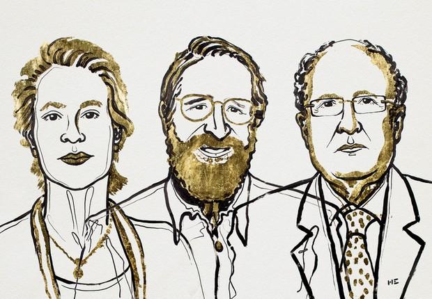 Trio ganha Nobel de Química por pesquisas sobre o desenvolvimento de proteínas
