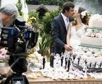 Sergio Guizé e Nathalia Dill gravamo casamento de Laura e Caíque | Raphael Dias/Gshow