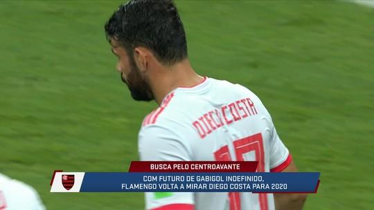 Mesa debate a possibilidade de contratação de Diego Costa pelo Flamengo