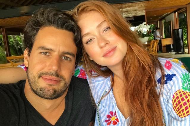 Marina Ruy Barbosa e Alexandre Negrão (Foto: Reprodução)