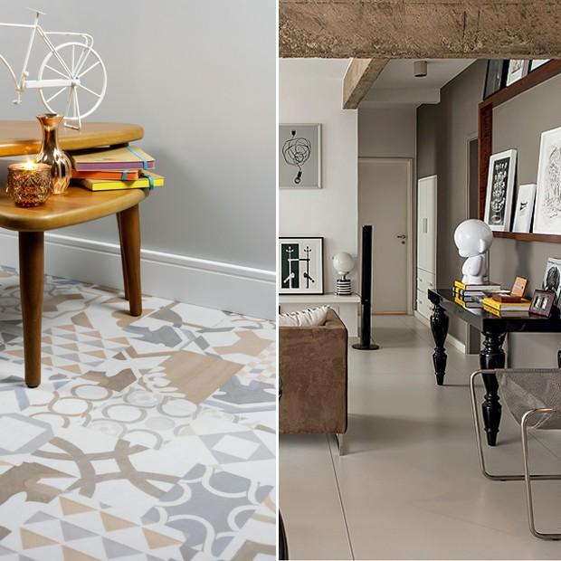 A diferença entre piso vinílico e piso laminado  (Foto: Casa e Jardim)