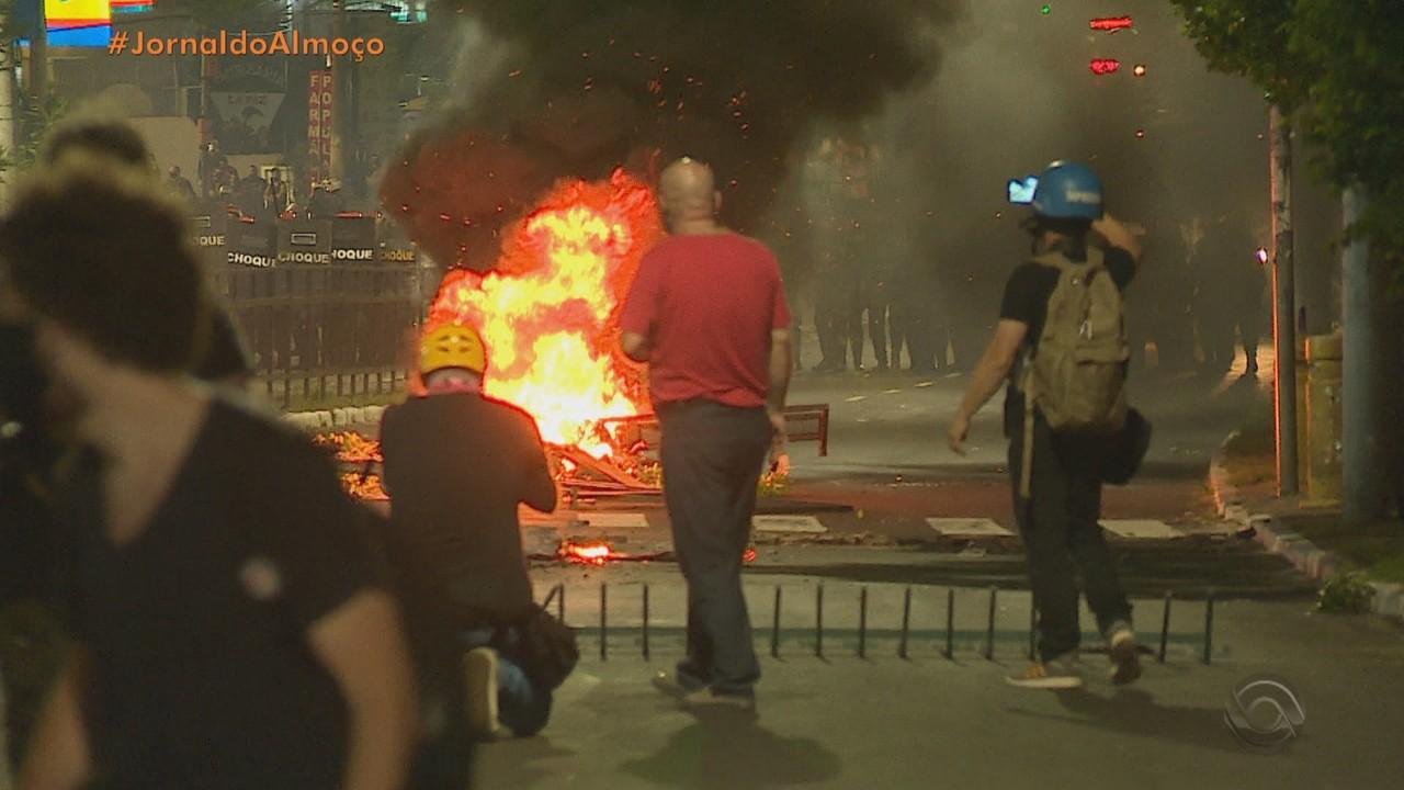 Protestos por morte de João Alberto são registrados em Porto Alegre