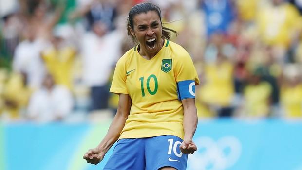 Marta foi nomeada como nova embaixadora da ONU Mulheres (Foto: Buda Mendes / Getty Images)