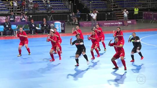 Conheça a seleção de futsal de Tonga nos Jogos Olímpicos da Juventude
