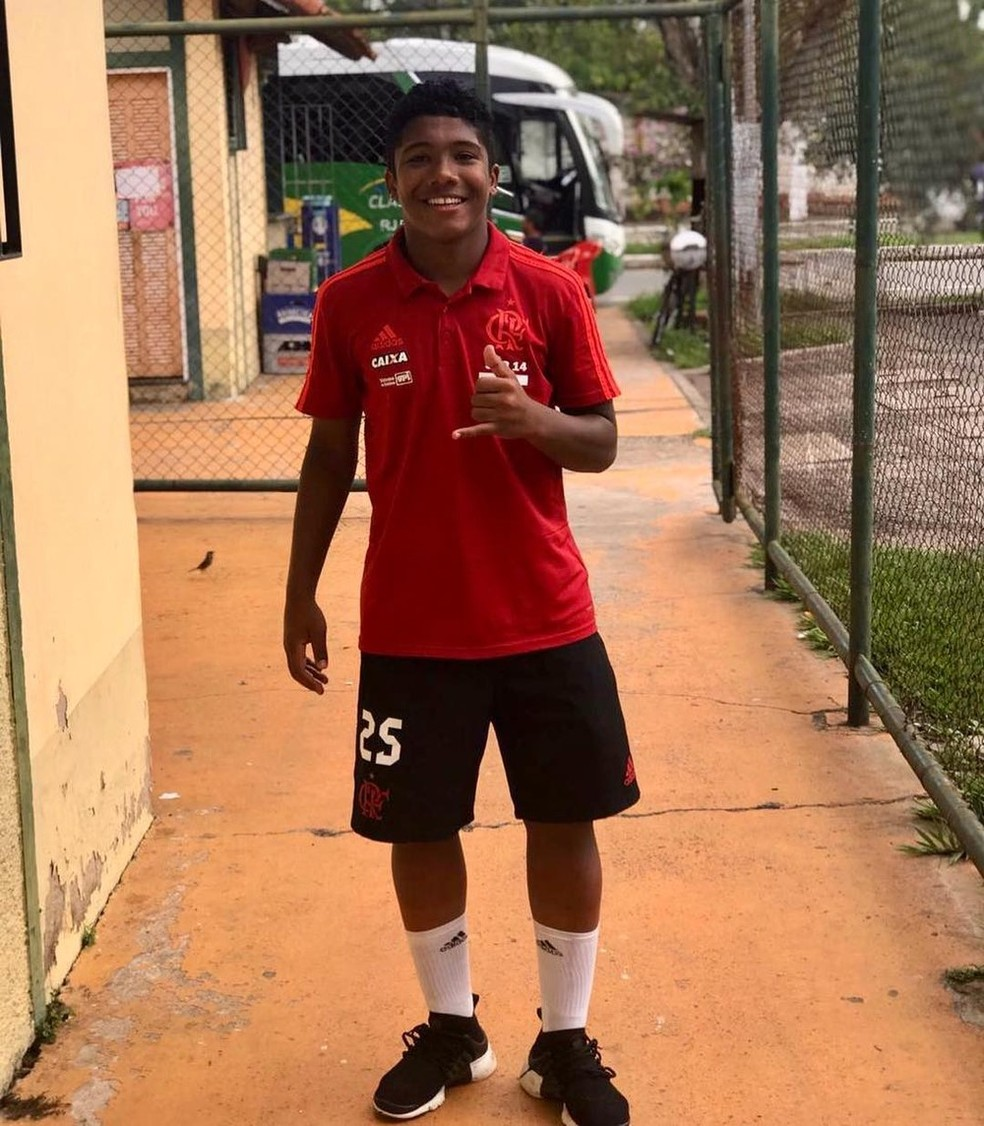Vitor Isaias era atacante do Flamengo — Foto: Reprodução/Instagram — Foto: Instagram/ Divulgação