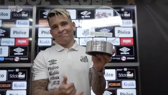 Foto: (Reprodução/Santos TV)