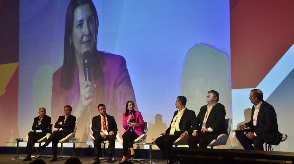 Elena Gil, do Grupo Telefonica, discute o futuro do varejo durante Latam Retail Show 2018 (Foto: Divulgação)