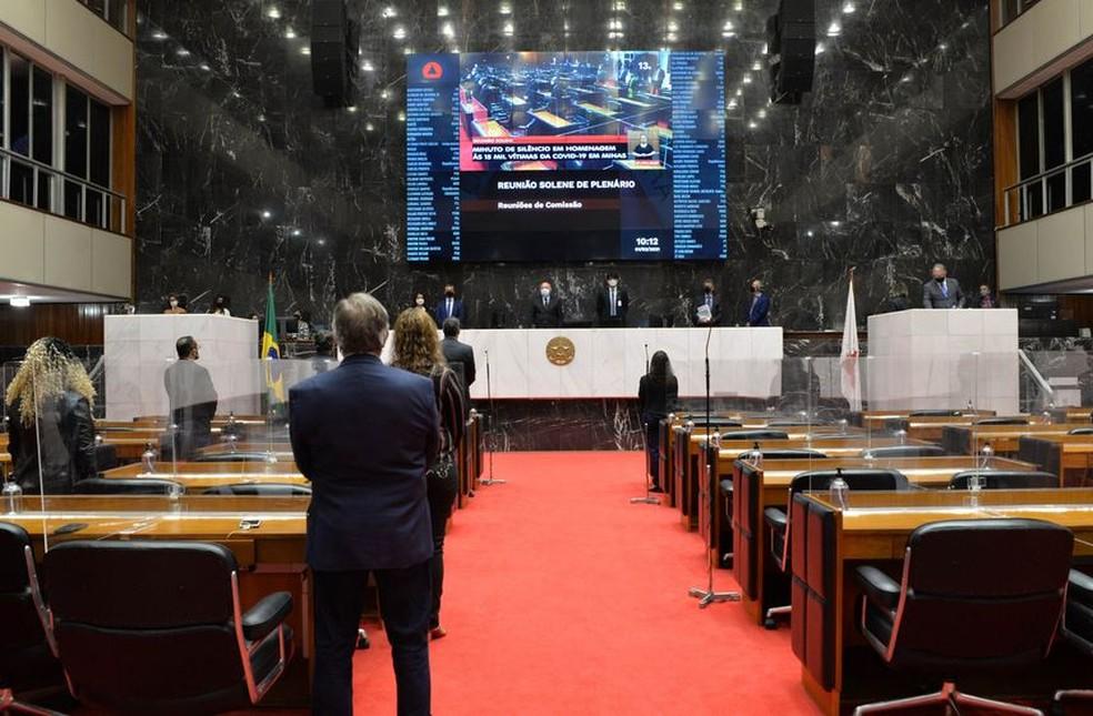 Plenário da ALMG — Foto: Clarissa Barçante/ALMG