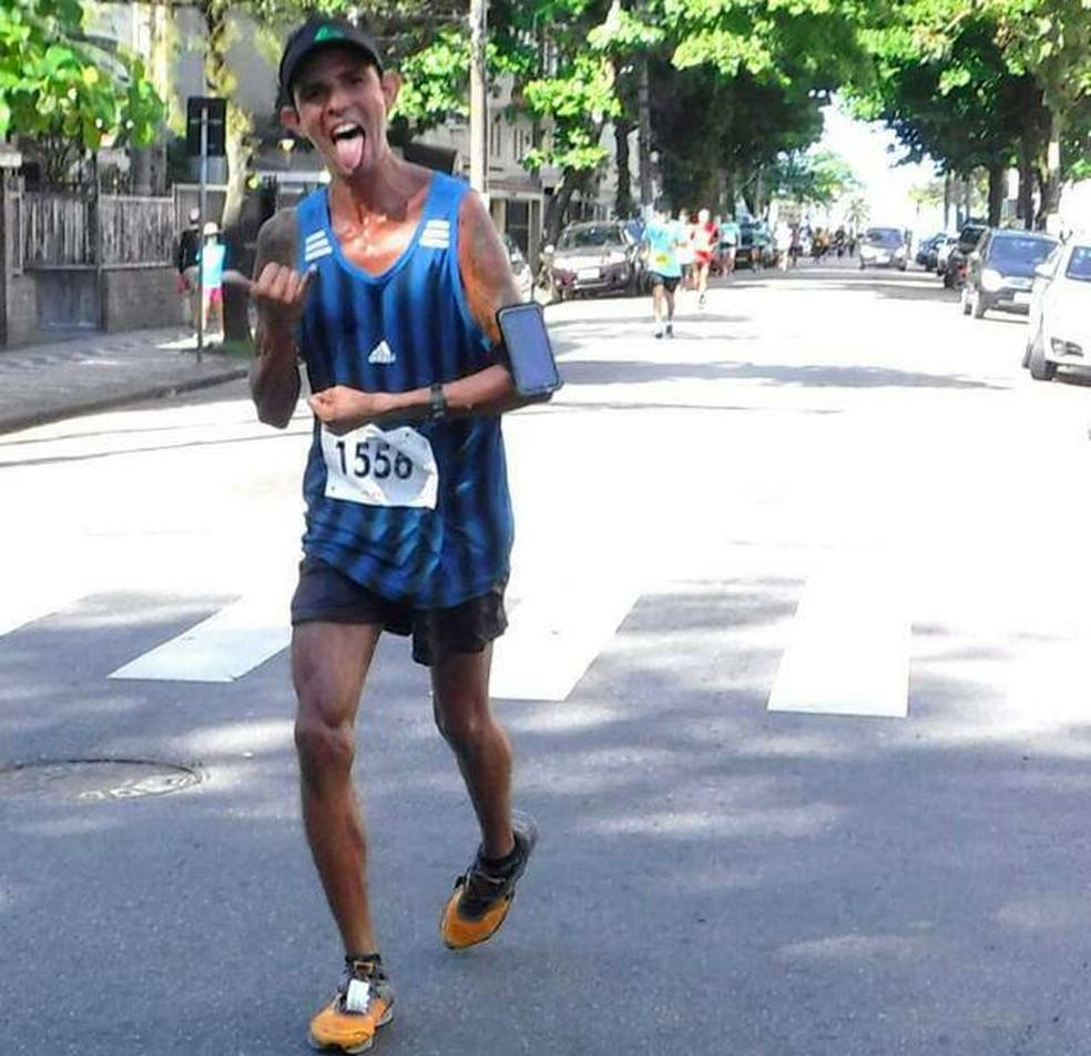 Tiago Oliveira participou de diversas competições (Foto: Arquivo Pessoal)