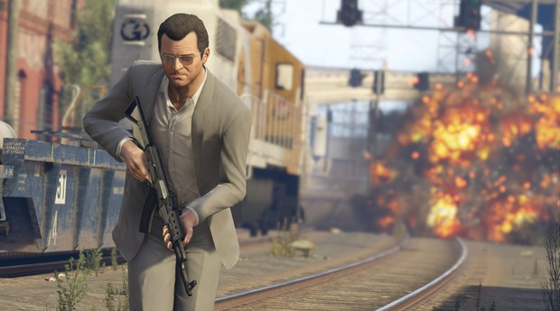 GTA V é considerado o jogo mais rentável da história da indústria de games (Foto: Divulgação)