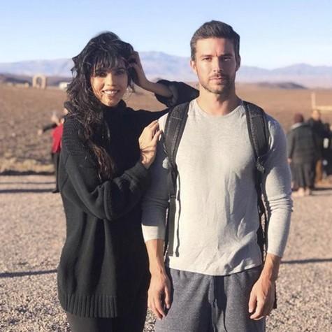Brendha Haddad e Bernardo Velasco gravam no 'Jezabel' Marrocos (Foto: Divulgação)