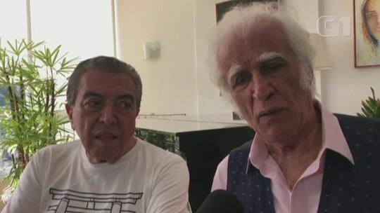 Maurício de Sousa e Ziraldo se encontram no Rio para lançar projeto conjunto