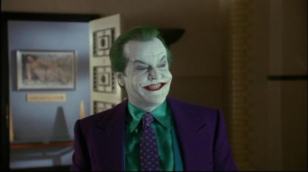 O ator Jack Nicholson no papel do vilão Coringa (Foto: Reprodução)