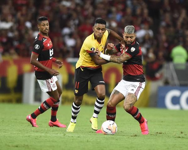 Time do Fla é o único de seu grupo na Libertadores que já voltou a jogar