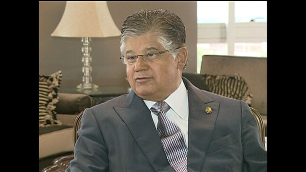 Clésio Andrade (Foto: Reprodução GloboNews)